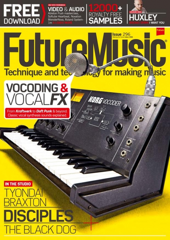 Future Music October 2015